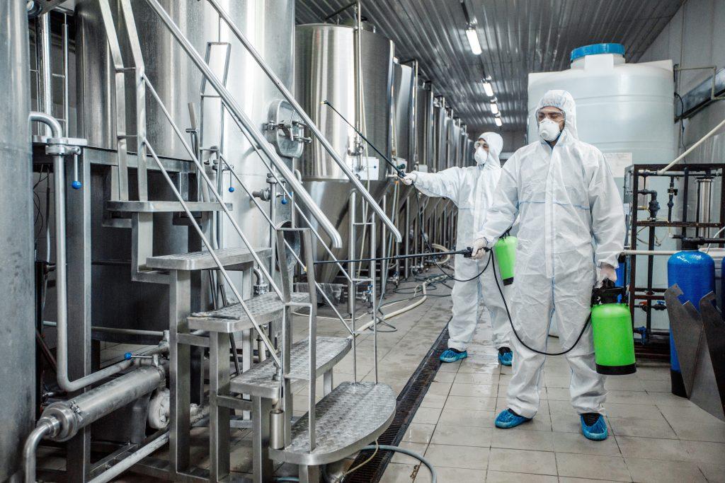 reiniging fabrieken